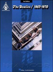Bien The Beatles 1967-1970 Guitar Recorded Versions 2nd édition Tab MÊme Jour ExpÉdition-afficher Le Titre D'origine MatéRiau SéLectionné
