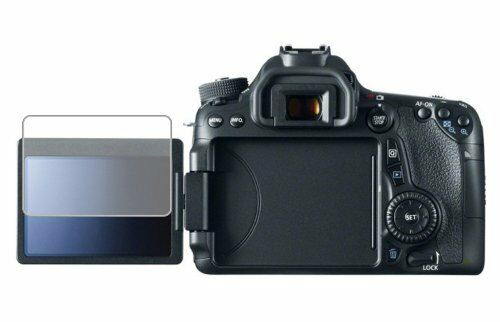 3 X Membrana Protectores De Pantalla Para Canon Eos 70d-Brillante Tapa Protector