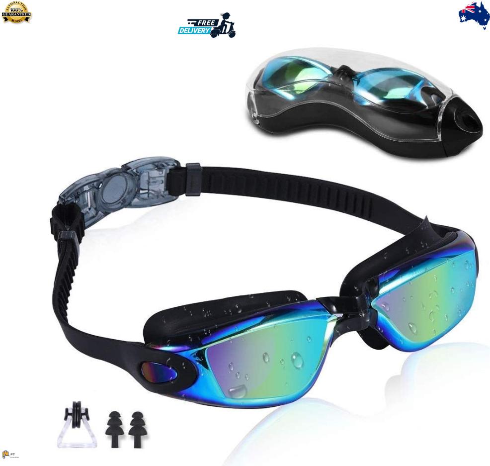 Rapidor Swim Goggles for Men Women Teens, Anti-Fog Leak-Proof, RP905 Series
