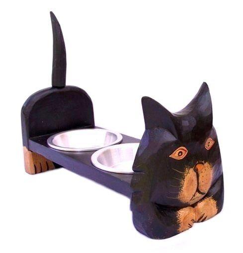 KATZEN FRESSNAPF Fressnapf Futternapf Katze Doppelnapf Katzennapf Futterstelle