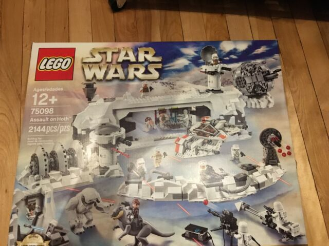 LEGO Star Wars ASSAULT ON HOTH -UCS Ultimate Collector Series (75098) NEW SEALED