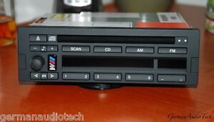 Bmw Business Cd Player Radio Stereo Am Fm Head Unit E31