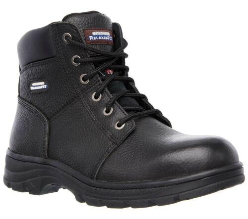 Women/'s Sketchers Steel Toe Memory Foam Relaxed Fit Boots Size 10