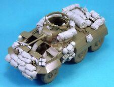 Legend 1/35 M8 Greyhound US Light Armored Car WWII Stowage Set (Tamiya) LF1275