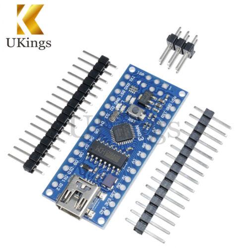 1//2//3PCS Nano V3.0 ATmega168 USB 16M 5V Mini-controller CH340G For Arduino
