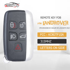 Remote Car Key Fob For Land Rover Lr2 Lr4 2012 2018range Rover Evoque Sport Fits More Than One Vehicle