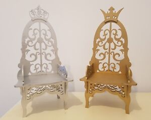 Details About King And Queen Chairs Wedding Thrones Mr And Mrs Table Top