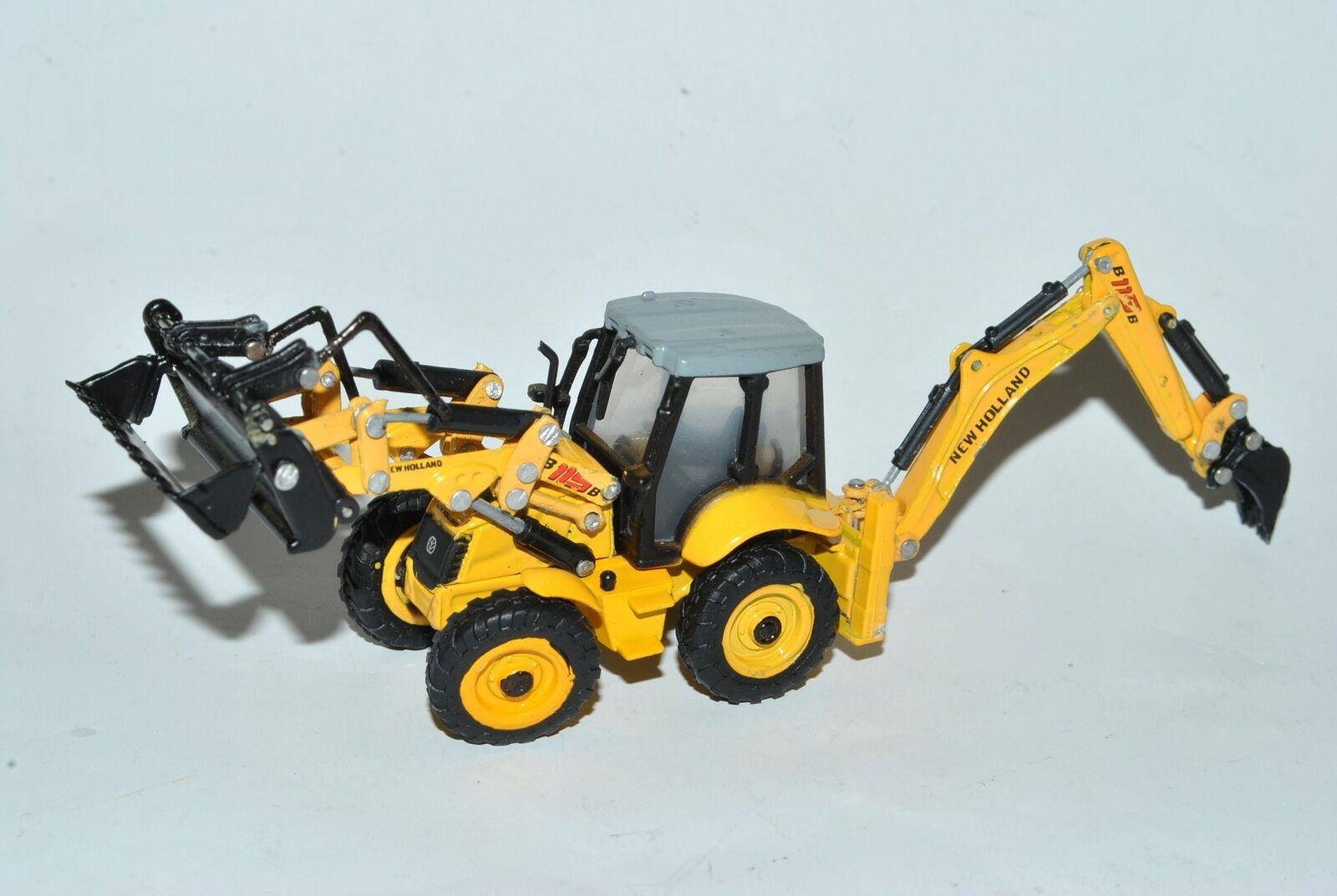 Volvo EC 240 BLC Raupen Bagger Baufahrzeug H0 1//87 Cararama Modell Auto mit oder