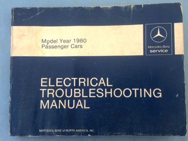 1980 Mercedes Benz 300sd 300 Sd Electrical Wiring Diagram