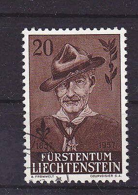 Liechtenstein Europa Gastfreundlich V1270 Liechtenstein/ Pfadfinder Minr 316 O