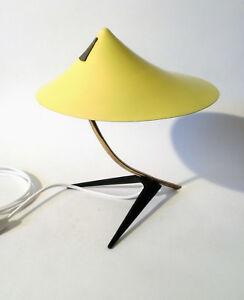 50s Leuchte á la Boris Lacroix mid mod lamp desk light Lampe cocotte annees 50
