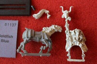 Amichevole Games Workshop Warhammer Montato Stregone Del Caos In Metallo Completa Fuori Catalogo Gw Mago-mostra Il Titolo Originale