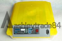 Egg Incubator Hatcher 48 Digital Clear Temperature Control Automatic Turning