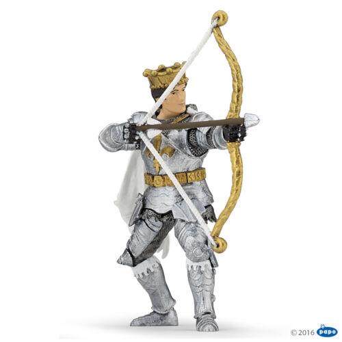 Papo 39796 Prince avec arc 10 cm Ritterwelt