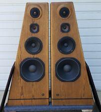 Vintage JBL L250 Speakers Oak Finished Pair LE14H-1 044 Gold Exct