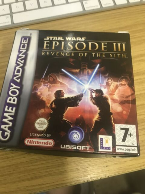 Star Wars Episode Iii Ds Game Revenge Of The Sith Nintendo 2ds 3ds Post For Sale Ebay