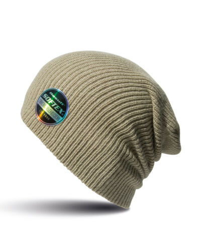 WINTER BEANIE 100/% Acrylic Lightweight RESULT HAT double thickness FAT DISPATCH