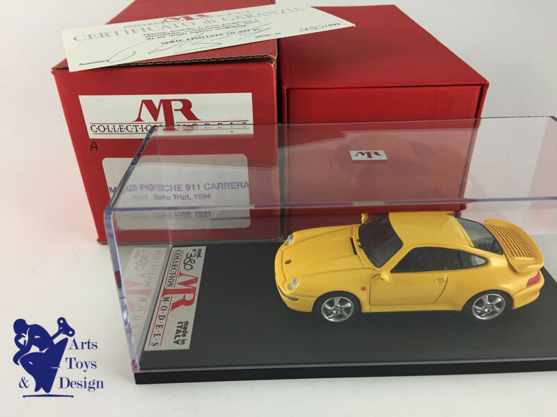 1 43 MR 25 PORSCHE 911 993 CARRERA TURBO TIPTRONIC FACTORY BUILT LIMITED EDITION