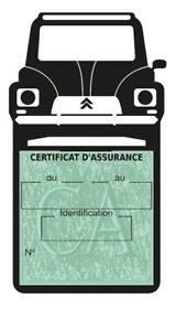 Porte assurance auto Citroën DYANE Stickers rétro - France - État : Neuf: Objet neuf et intact, n'ayant jamais servi, non ouvert. Consulter l'annonce du vendeur pour avoir plus de détails. ... Marque: SAR - France