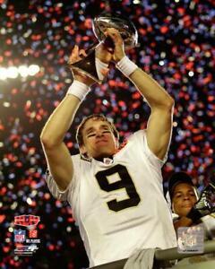 New-Orleans-Saints-Super-Bowl-44-MVP-Drew-Brees-8x10-Photo-Picture-Record