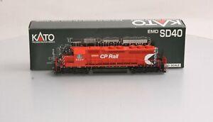 Kato 37-6332 CP Rail EMD SD40 Diesel Locomotive #5524 LN/Box