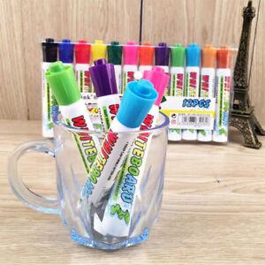 12-colour-set-white-board-marker-pens-dry-erase-eraser-easy-whiteboard-New-UK