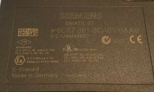 Siemens Simatic s7-300 6es7 361-3ca01-0aa0 Interface im361 Interface Module