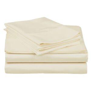 5 Pcs Split King Adjustable Bed Sheets Set Soft 100 Premium Cotton