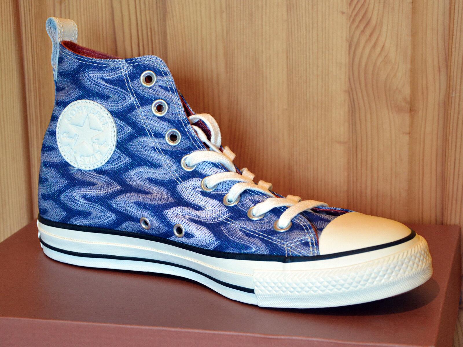 Converse Blue Chuck Taylor All Star Hi Missoni azul Blue Converse 151255c cortos nuevo 4f2666