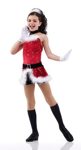 Santa Baby Dance Dress Halloween Christmas Ballet Costume LAST ONE Adult 2XL
