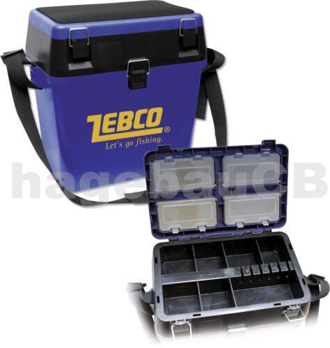 ZEBCO Allround-Sitzkiepe Angelkoffer Angelbox Gerätekoffer Gerätebox Zubehörbox