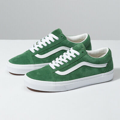 Details zu Vans Old Skool Pig Suede Fairway Green Lifestyle Sneakers Skateboard VN0A4BV5V76