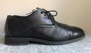 Charles Jourdan Oxfords, Black Leather, Size 10D, Excellent Condition