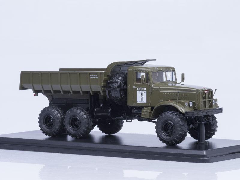 KRAZ 255 B (6x6) khaki  SSM1181  1 43