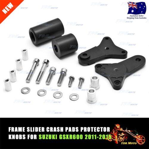 Crash Protect Frame Slider Blk Suzuki GSXR600 2011 2012 2013 2014 2015 GSXR750