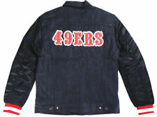 Levi's Strauss Men's NFL Team 49ERS Button Up Denim Jean Bomber Jacket 181930001