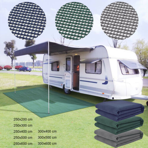Breathable Caravan Awning Groundsheet Camping Carpet Soft Multi Sizes Colors
