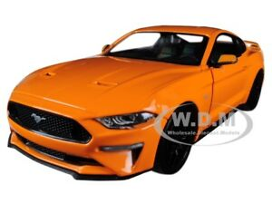Image Is Loading 2018 Ford Mustang Gt 5 0 Orange W