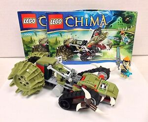 Details about LEGO Legends of Chima Crawley's Claw Ripper (70001) 100%  Complete W Manual, Box