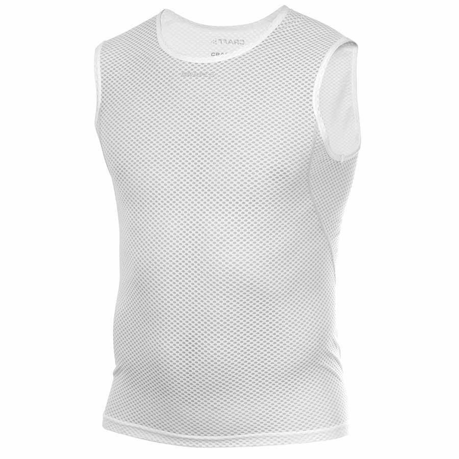 Craft Cool Mesh Base Layer SuperLight SL Sleeveless bianca Large Bike