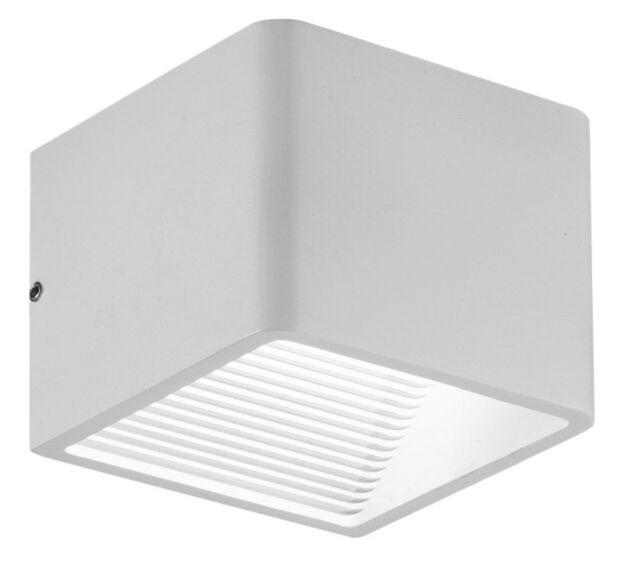 Ledino Ledar Outdoor/Indoor Lámpara de Pared LED Up/Down Metal Gris 5,5W 3000K