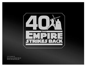 LEGO-5006254-CARTE-DA-COLLEZIONE-STAR-WARS-Empire-Strikes-Back-40TH-RARO-NEW