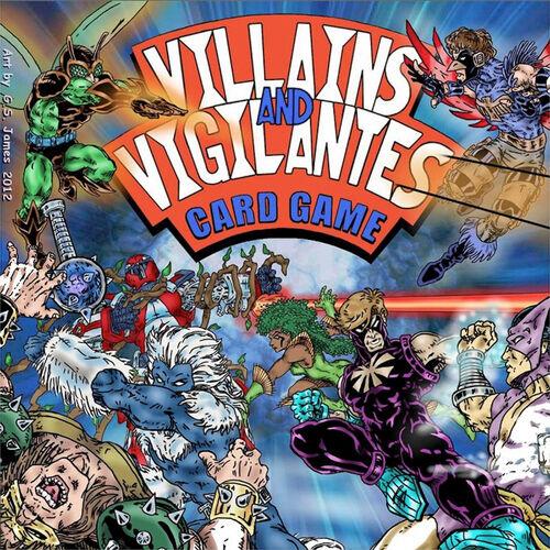 VILLAINS & VIGILANTES CARD GAMES S-l500