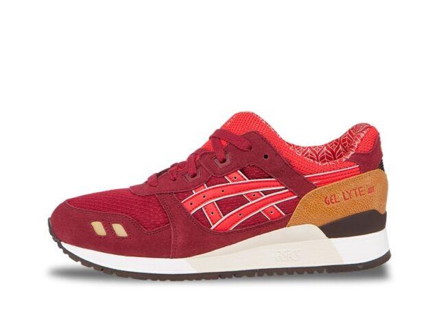 new concept ed6e5 2fcf0 Asics GEL-LYTE 3 III (Burgundy / Fiery Red) [HN514-2523] Tiger Running Mens