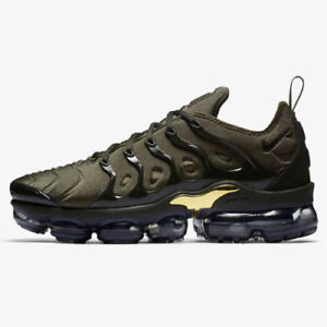 reputable site a5dc8 c4e67 Details about Nike Air VaporMax Plus size 9. Cargo Green Olive Gold.  924453-300. max 95 97