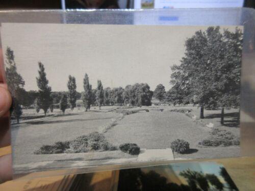 Vintage Old OHIO Postcard Marion White Oaks Farm Sawyer Sanatorium Terrace Lake
