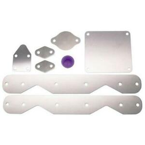 Details about Small Block Chevy SBC 350 Long Block Engine Seal Up Block Off  Storage Plates Kit