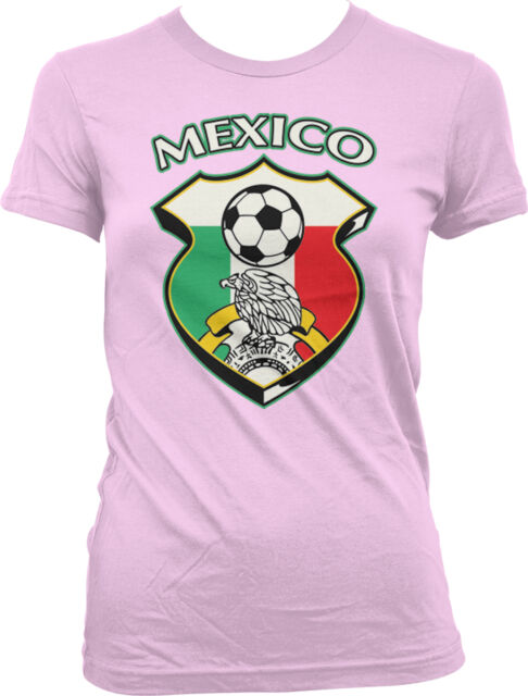Mexico Country Mexican Football Team Soccer Heritage MEX Juniors V-Neck T-Shirt