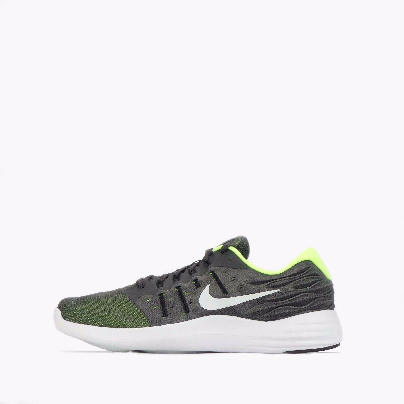 best sneakers ae9d3 90004 Zapatos corrientes de los hombres NIKE NIKE NIKE lunarstelos Midnight Fog    blanco negro marca de