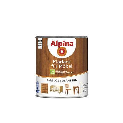 Alpina Klarlack für Möbel - Schützt und versiegelt Möbeloberflächen